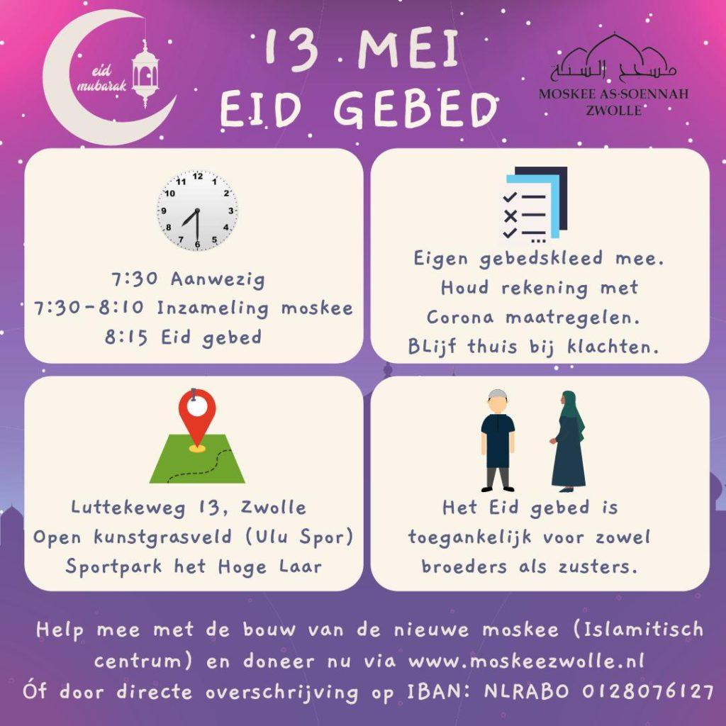 Ied Al-Fitr Gebed mei 2021